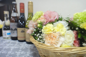 ファミリーホール船橋の海洋散骨、献花・献酒