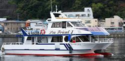 ファミリーホール船橋の海洋散骨、三笠桟橋出港80名様プラン327,800円
