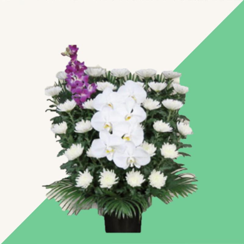 ファミリーホール船橋、供花のご案内・白菊16,500円