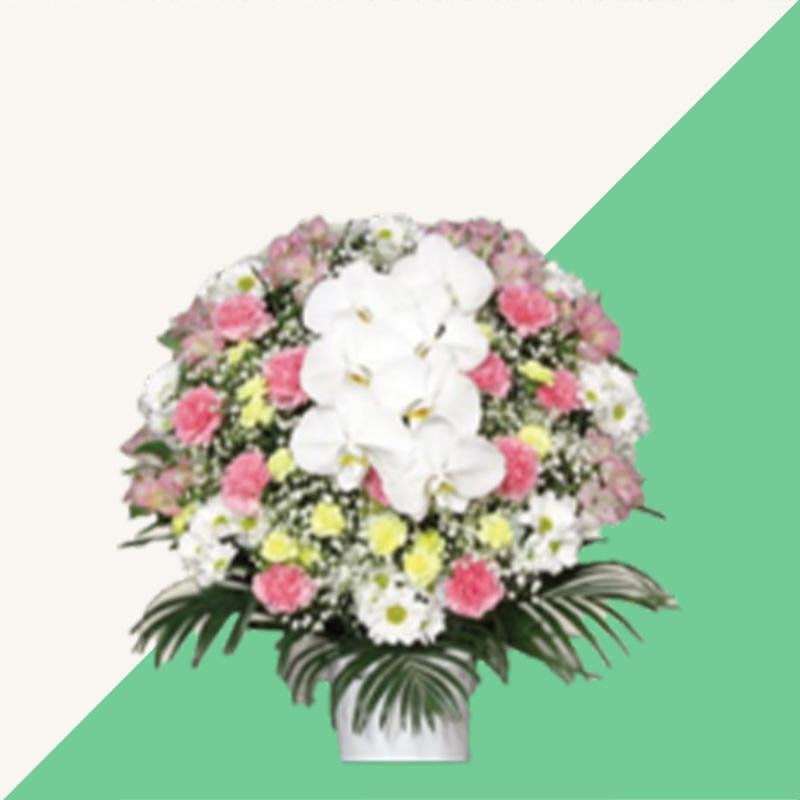 ファミリーホール船橋、供花のご案内・洋花(ピンク)16,500円