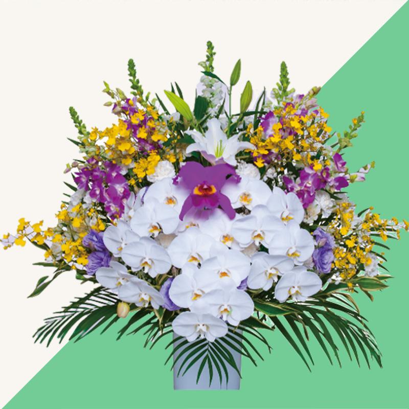 ファミリーホール船橋、供花のご注文・洋花 33,000円